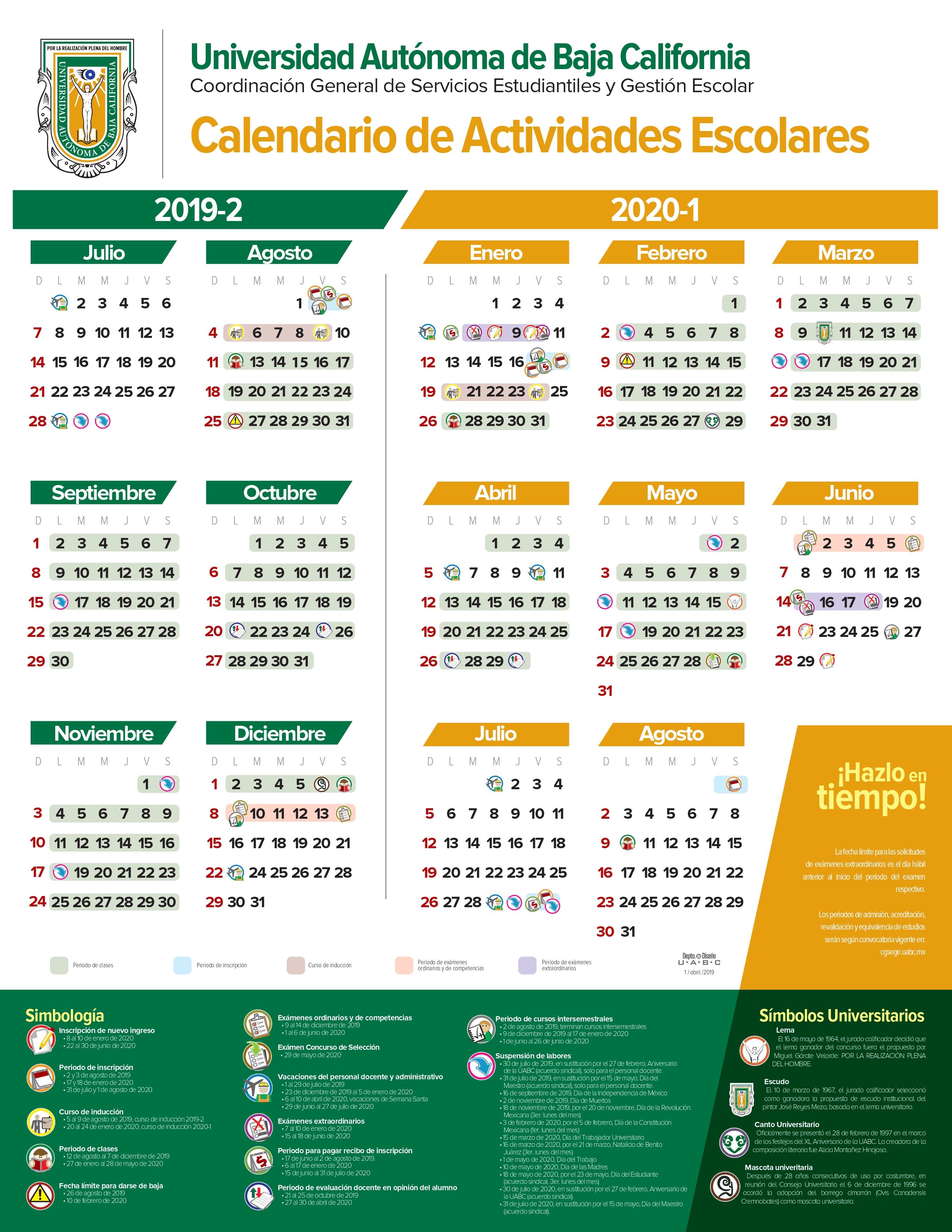 Calendario Escolar 2020 Las Palmas.Fcitec Facultad De Ciencias De La Ingenieria Y Tecnologia